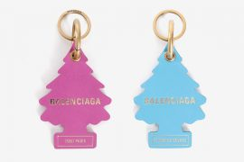 Balenciaga Air Freshner Keychain Pink Blue