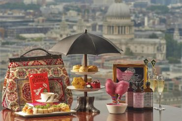 Aqua Shard Mary Poppins Afternoon Tea