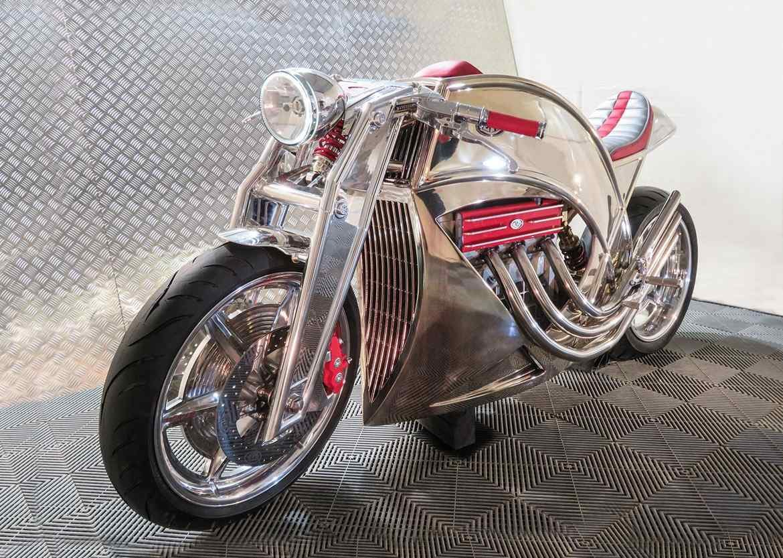 Levis V6 Cafe Racer