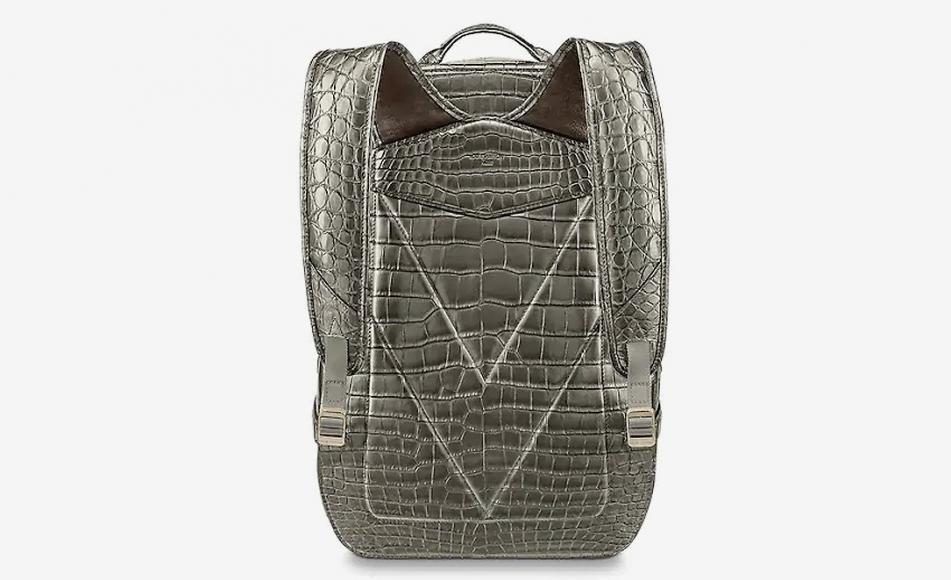 Rare Crocodilian Leather Louis Vuitton Backpack 79000