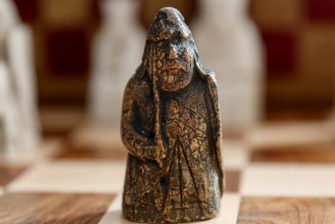 Lewis Chessman Chess Piece
