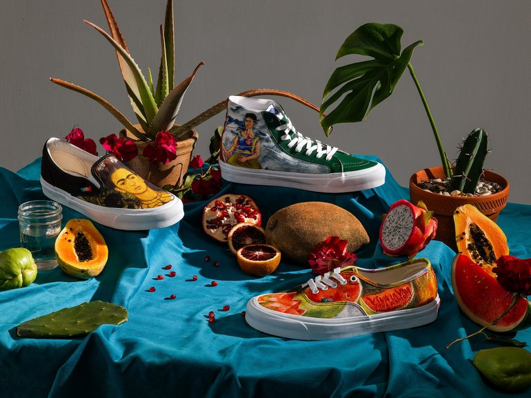 New Vans x Frida Kahlo Collection Honors Legendary Mexican Artist