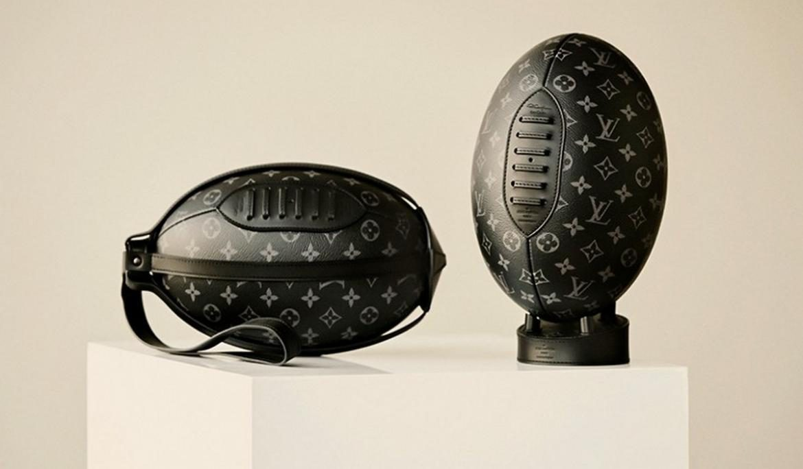 Louis Vuitton Monogramed Rugby Ball