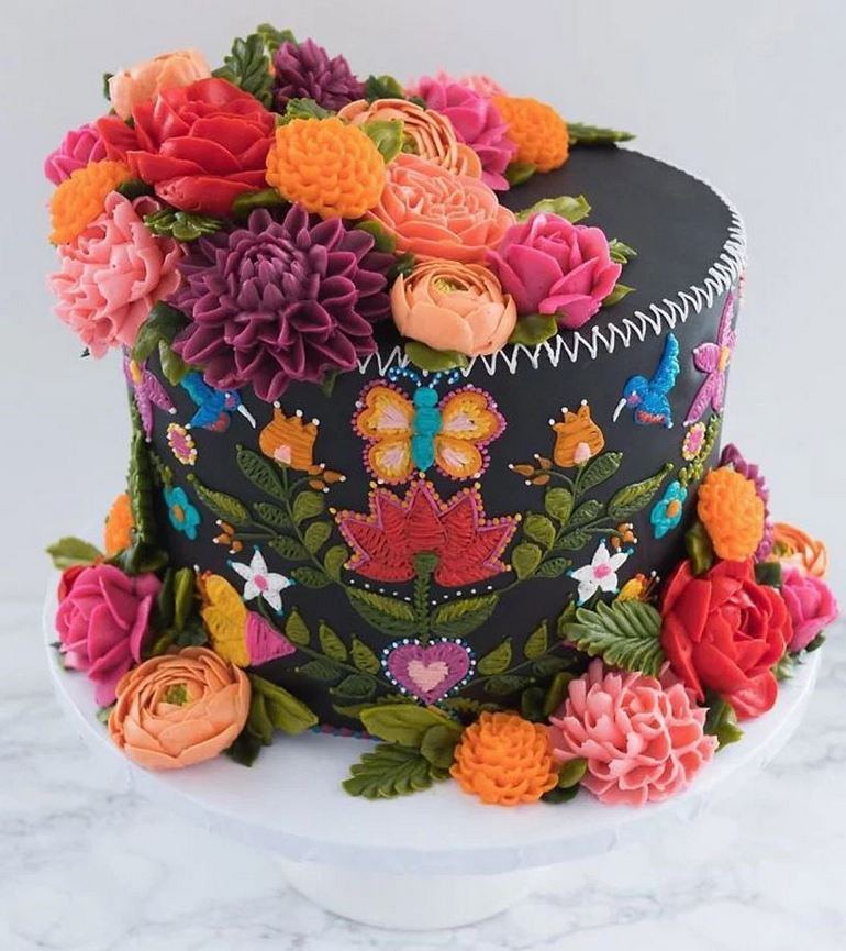 Unbelievable Tapestry Cake Collection By Cake Decorator Leslie Vigil