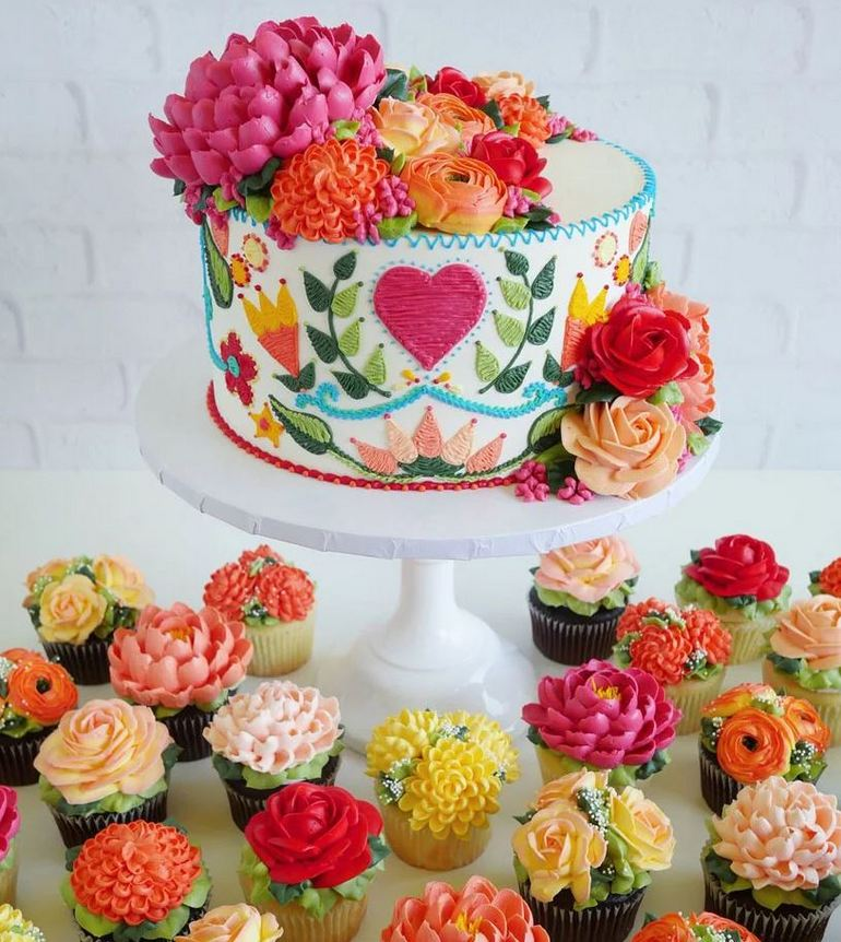 Tapestry Cake Collection By Cake Decorator Leslie Vigil