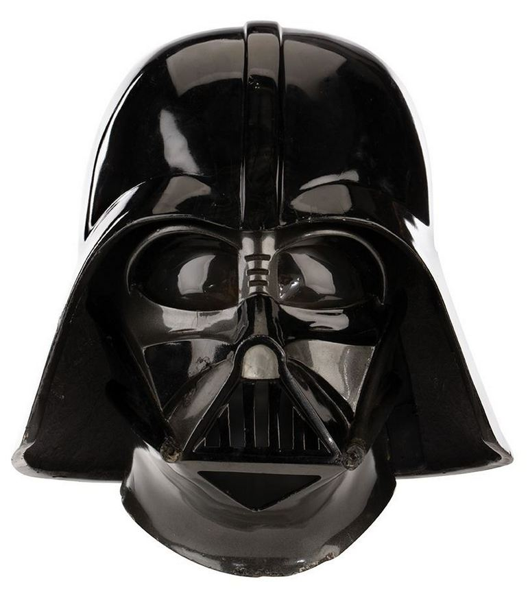 David Prowse Darth Vader Mask and Helmet