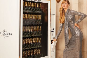 Neiman Marcus Moët & Chandon Champagne Vending Machine