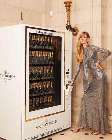 Neiman Marcus Moët & Chandon Champagne Vending Machine