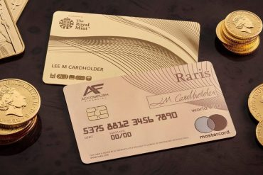 Raris Royal Mint 18 karat Payment Card