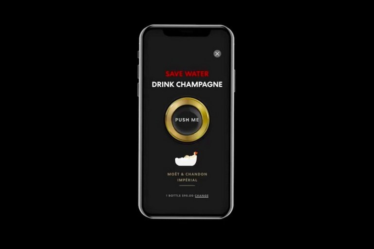 Virgin Voyages Shake for Champagne