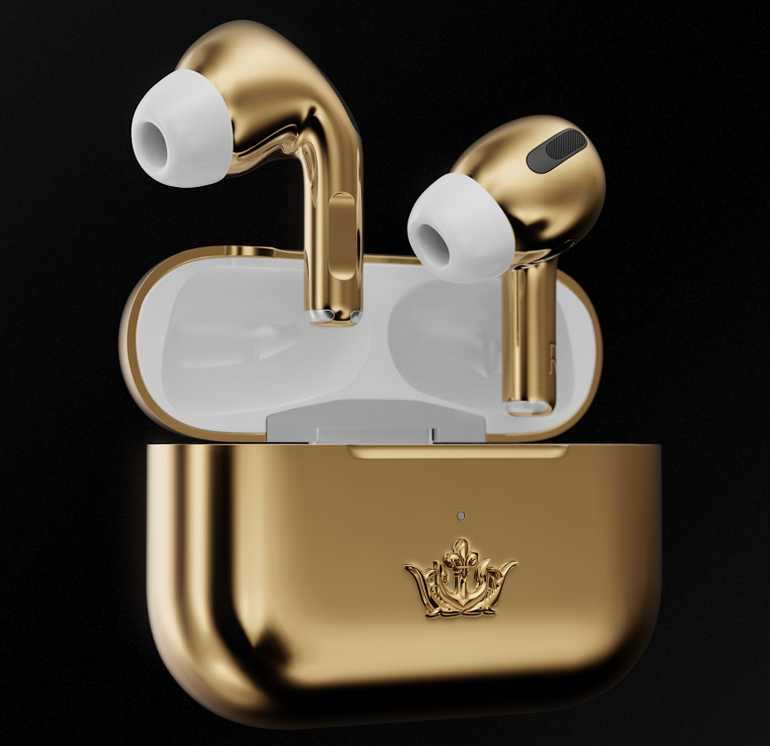 Caviar Airpods Pro Gold Edition