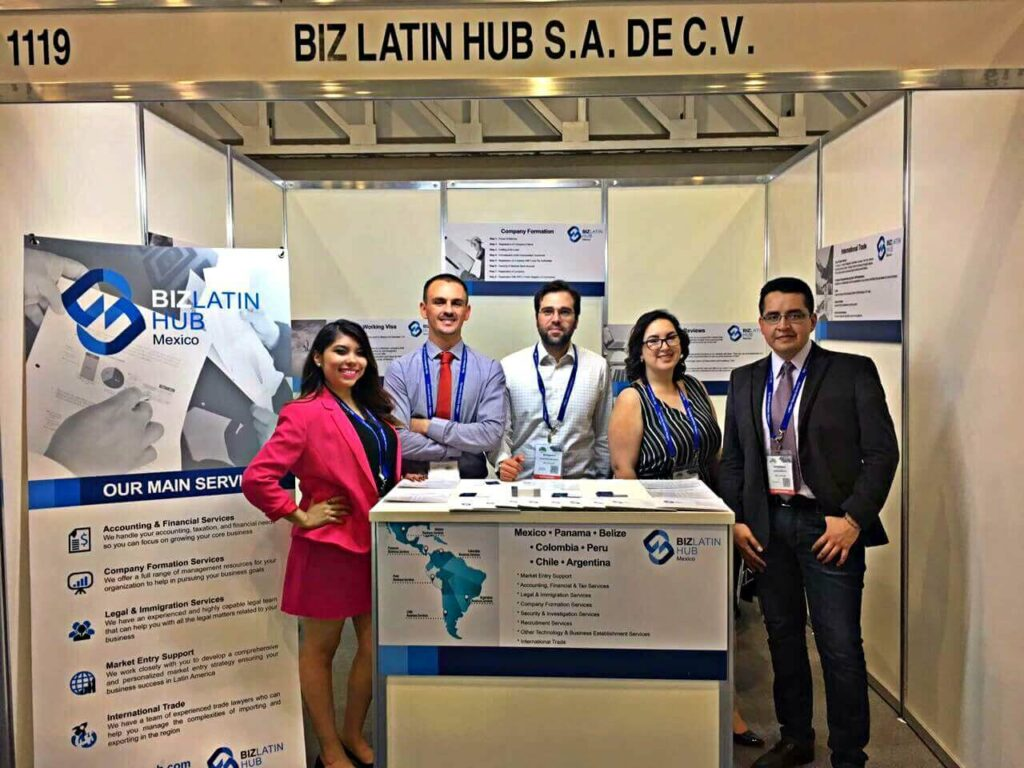 Biz Latin Hub team providing commercial representation in Latin America