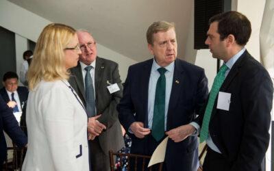 Biz Latin Hub Meets Irish Trade Minister at International Trade Event in Mexico City