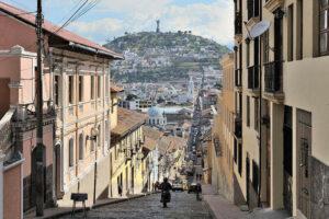 Streets of Quito, Ecuador