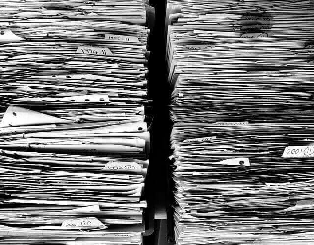 Pile of applications to register a trademark in Brazil