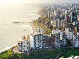 Lima coast
