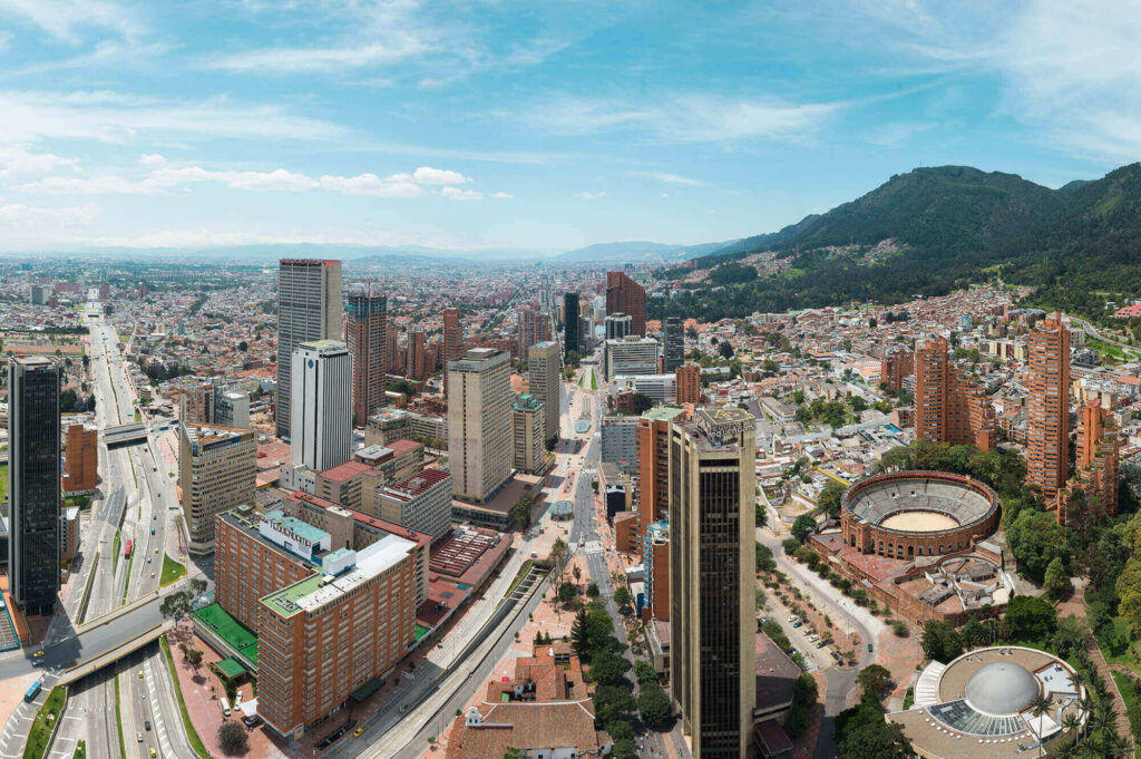City of Bogota, a city that will benefit from the Canada-Colombia Free Trade Agreement