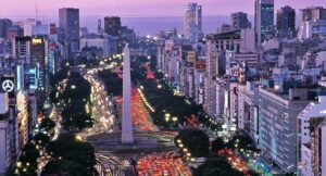 Obelisk of Buenos Aires, city where  many companies doing business in Argentina are located.