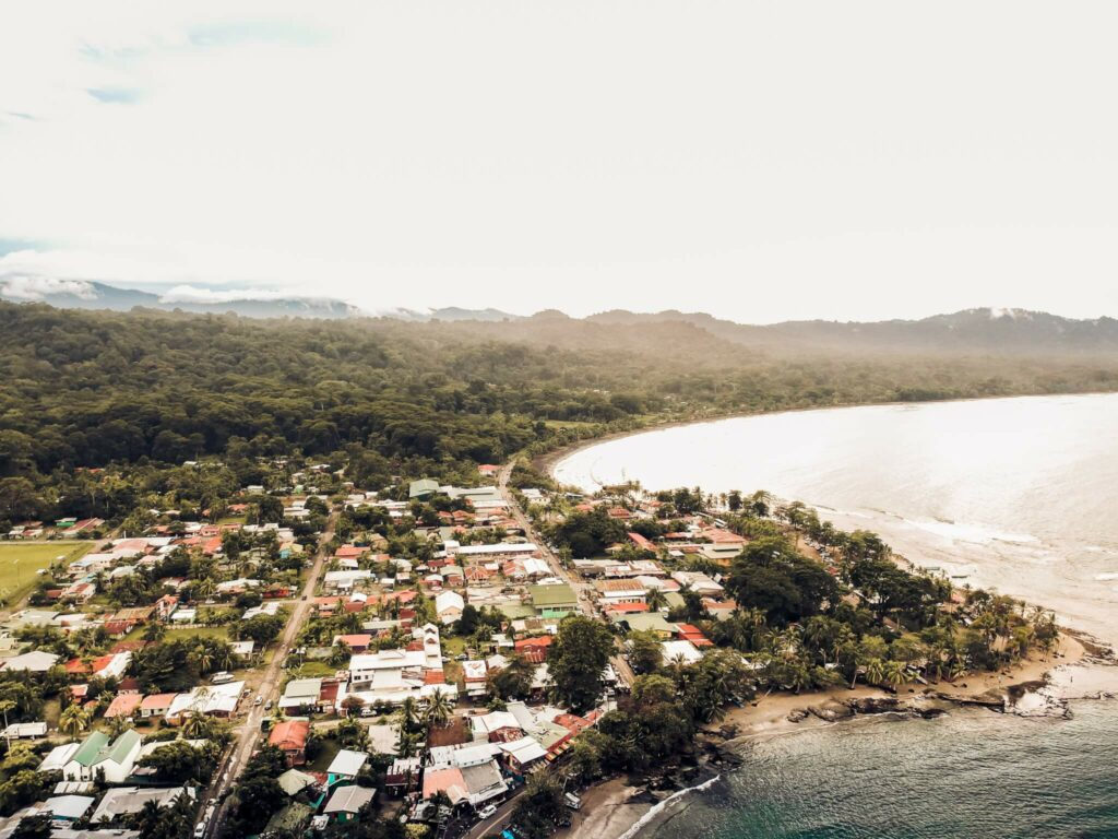Costa Rica airview picture