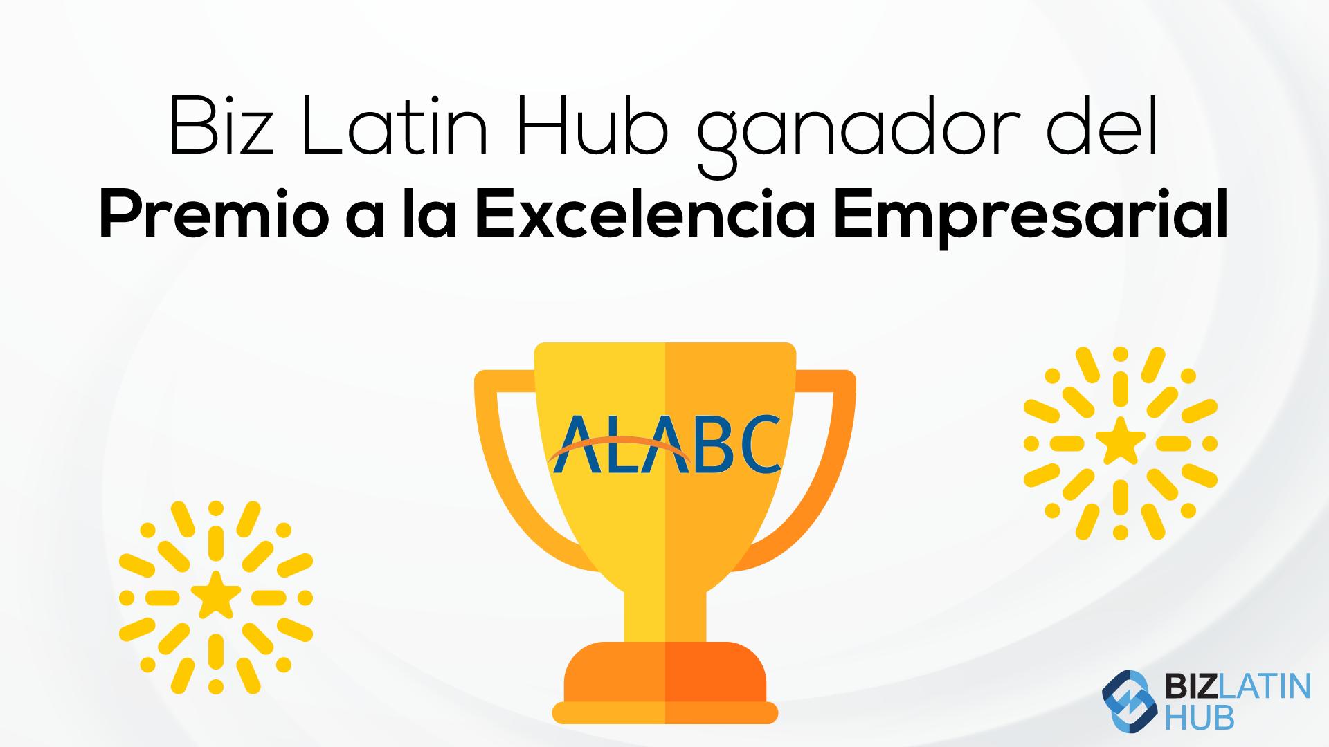 Biz Latin Hub ganador del Premio a la Excelencia Empresarial en Australia