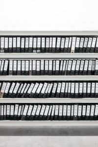 once you're set up and operational, you're required by law to keep comprehensive company records for seven years.