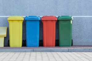 recyclable recycling waste