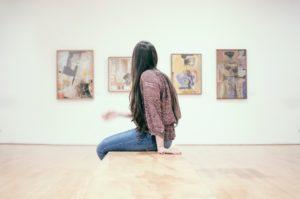 Girl at Museum in Bogota