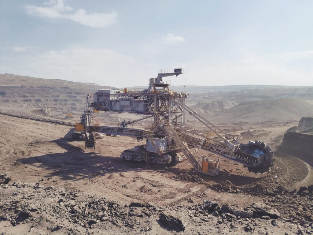 Machinery for mining in Mexico
