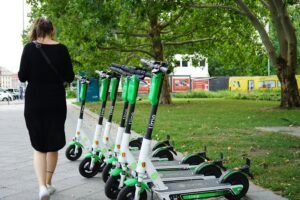EV scooters