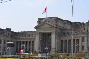 Peruvian government palace