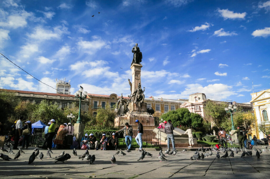 La Paz, a city where people look for services of due diligence in Bolivia to protect their businesses
