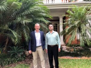 Biz Latin Hub Chairman David Wright and Country Coordinator Gustavo Gonzalez open new office to provide market entry and back-office services in Paraguay
