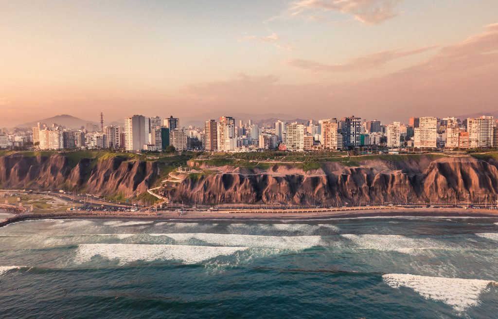 Lima, Peru's capital city, where foreign investors hire staff when choosing Payroll Outsourcing in Peru.