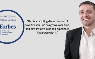 Craig Dempsey, CEO de Biz Latin Hub Aceptado en el Consejo de Desarrollo Empresarial de Forbes