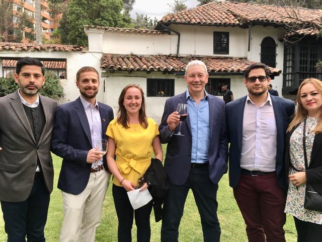 Equipo de Biz Latin Hub, una empresa de América Latina y Australia, en Australia Day