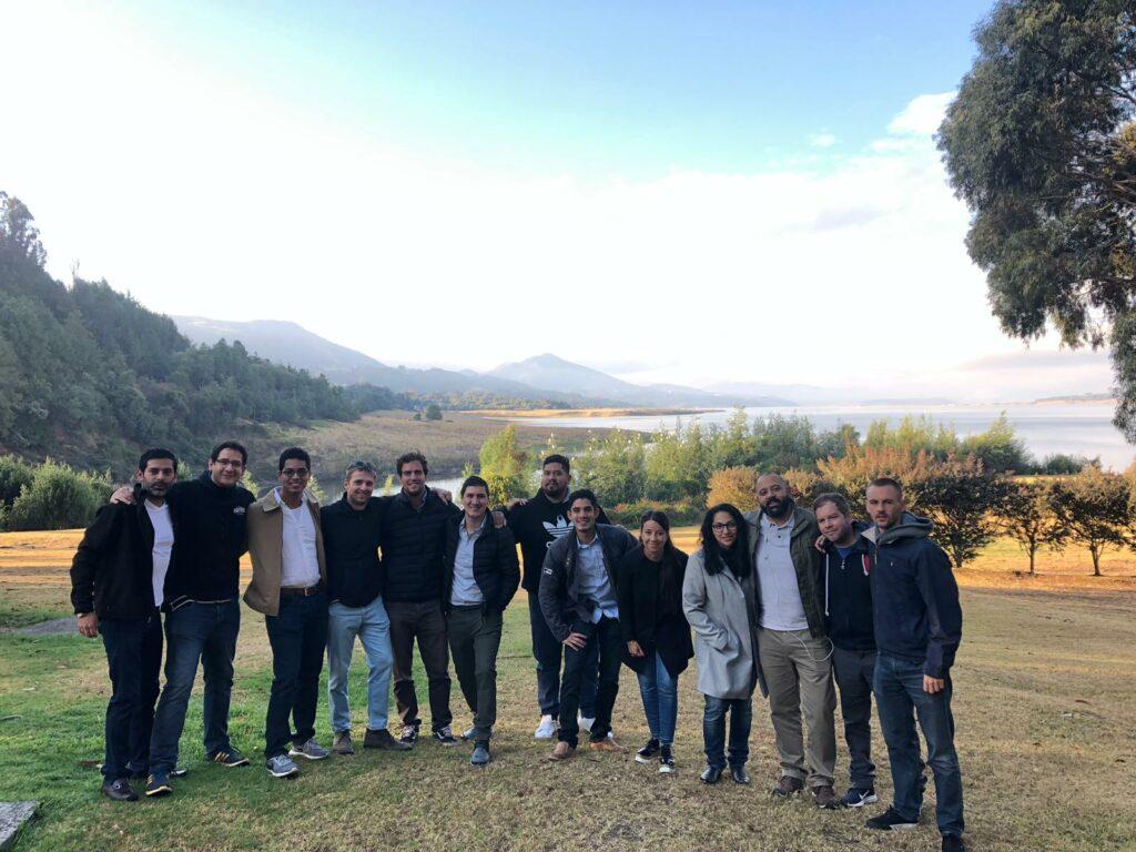 International business, Biz Latin Hub, meeting in Guatavita, Bogotá.