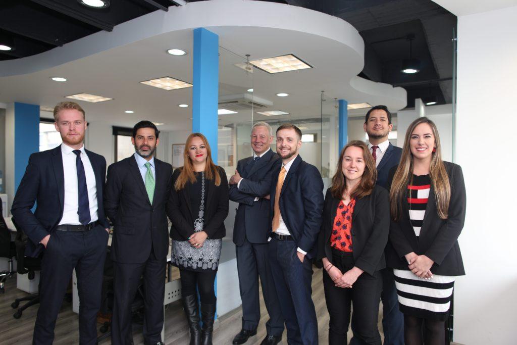 Corporate team of international business, Biz Latin Hub