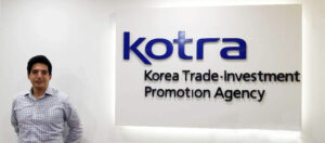 Enrique Bazan, Head of KOTRA in Peru
