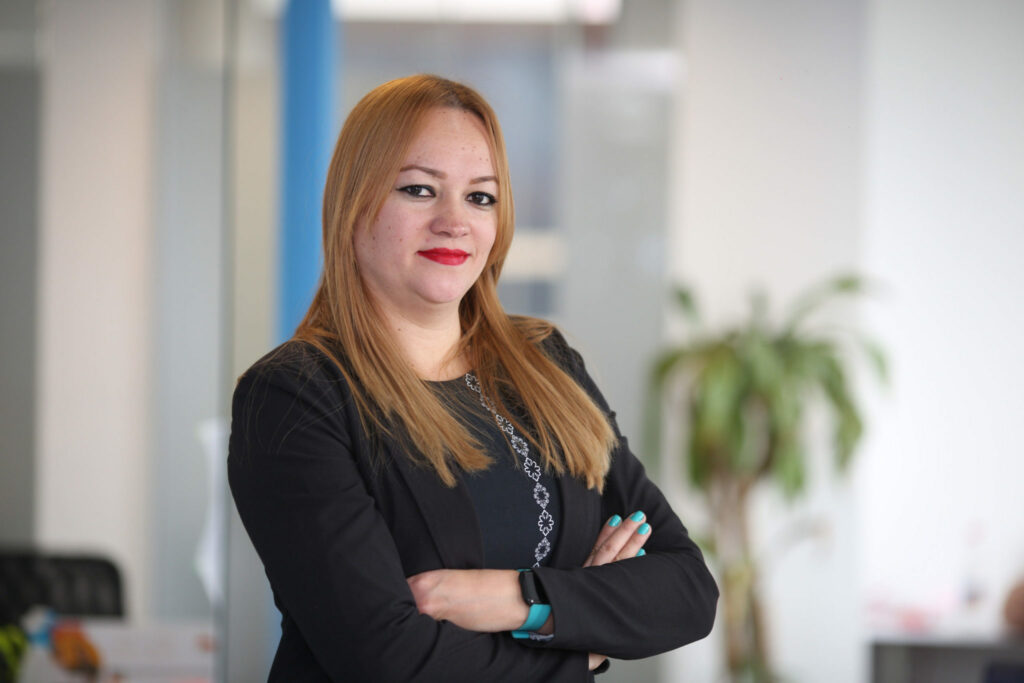 Sandra Vargas, Manager for Accounting, Tax and Payroll Services in Colombia