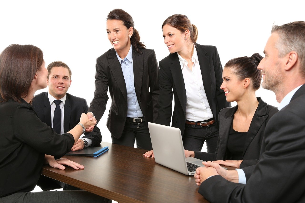 group of people meeting for the first time because of the employer of record compa