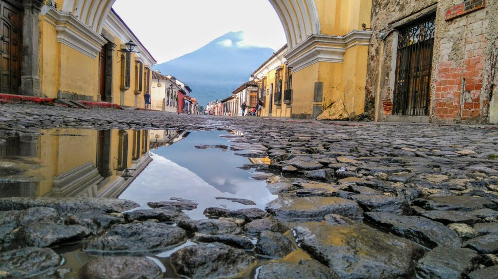 A old city in Guatemala.
