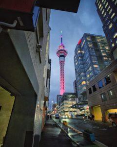 Auckland Skytower, New Zealand