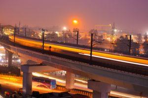Railway tracks in India