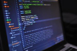 uma tela de computador mostrando dados
