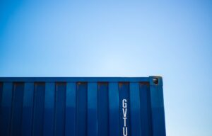 Shipping container, used for the exchange of goods that is carried out thanks to the foreign investment trends in Guatemala.