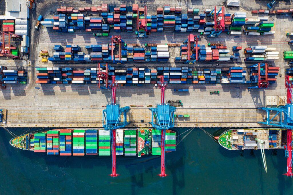 Puerto comercial, donde se realizan las operaciones de registro de productos en Brasil.