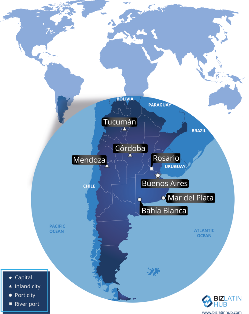 An overview over the South American nation, a perfect place to open an Accounting Firm in Argentina