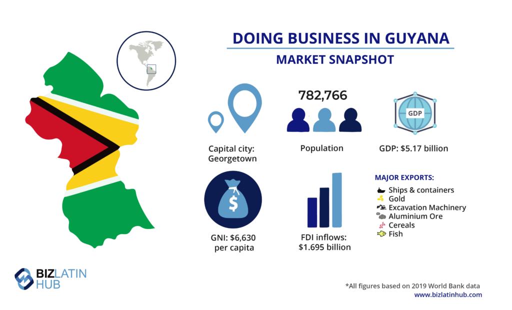 Instantánea del mercado de Guyana