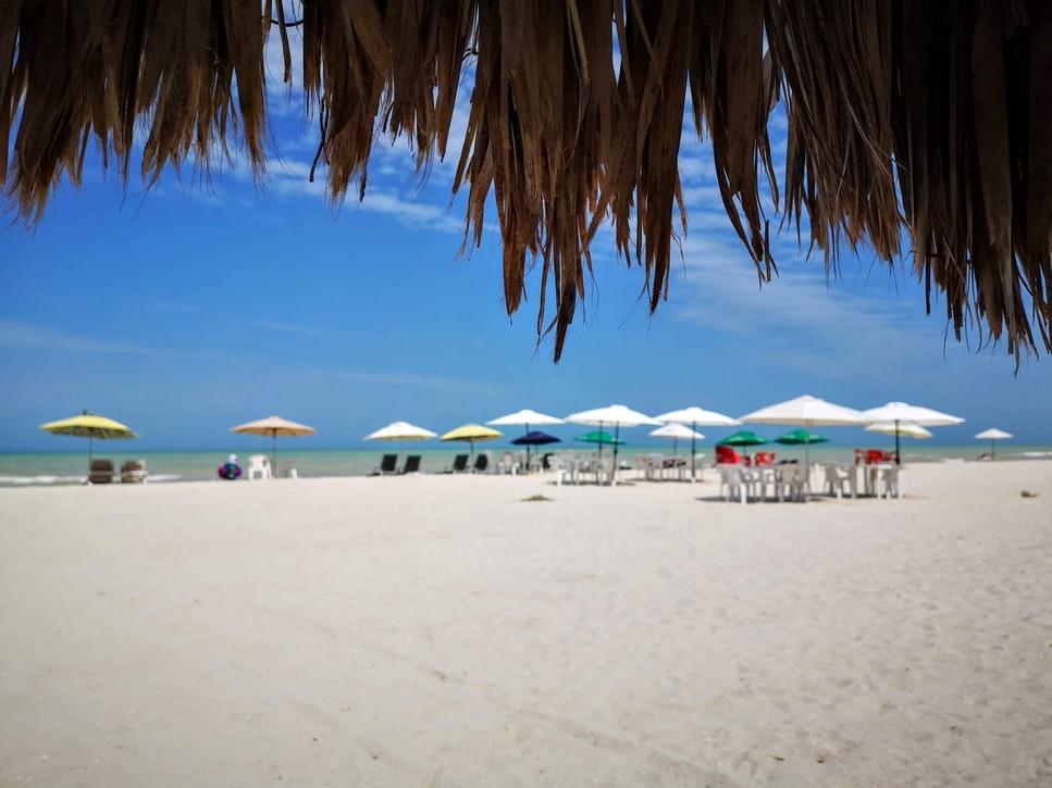 Una playa en el Penisular de Yucatán, polo turístico de México, cuya capital Ciudad de México ha sido nombrada como la mejor ciudad para invertir en América Latina.