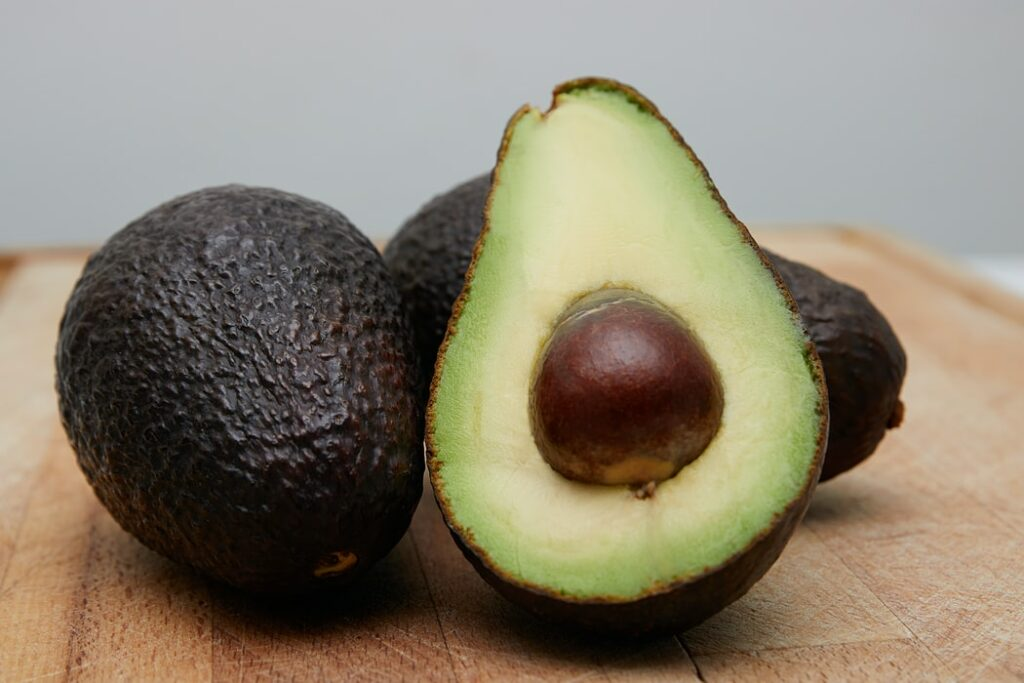A photo of an avocado, one of the key Mexico exports